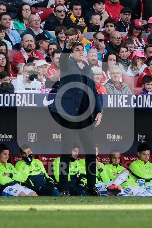 CD Leganes's coach Mauricio Pellegrino during La Liga match between Atletico de Madrid and CD Leganes at Wanda Metropolitano stadium in Madrid, Spain. March 09, 2019. (ALTERPHOTOS/A. Perez Meca)