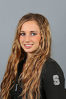 STANFORD, CA-October 16, 2014- Kristina Vaculik of the Stanford Womens Gymnastics Team