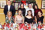 Members of the Arena of Tralee enjoying their Christmas Party in the Brogue Inn on Saturda night.<br /> Seated l-r, Joan McElligott, Maeve Frawley, Ciara Walsh and Aoileann De H&oacute;ra.<br /> Back l-r, Jason and Ann Huntley, Jonathan Dolan and Saba Balal.
