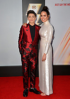 LOS ANGELES, CA. March 28, 2019: Asher Angel & Marta Milans at the world premiere of Shazam! at the TCL Chinese Theatre.<br /> Picture: Paul Smith/Featureflash