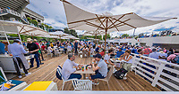 Paris, France, 28 May, 2018, Tennis, French Open, Roland Garros, ambiance, terras<br /> Photo: Henk Koster/tennisimages.com