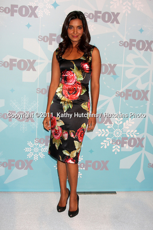 LOS ANGELES - JAN 11:  Shelley Conn arrives at the FOX TCA Winter 2011 Party at Villa Sorriso on January 11, 2010 in Pasadena, CA.