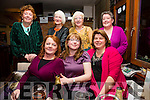 Monica Kelleghan seated front centre from Ballinskelligs celebrated a birthday over 21 and under 50 with friends in the Fertha Bar Cahersiveen on Saturday night last pictured here with front l-r; Joan Orm, Fionnuala O'Shea, back l-r; Lucy Henehan, Gerry Kennedy, Margaret van Bemmelen & Breda O'Shea.