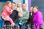 Aoibhinn and Mark O'Sullivan (Fenit) with Mary Kate and Kieran O'Shea (Blennerville), Geraldine O'Sullivan (Fenit) and Julie O'Shea (Blennerville).