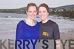 Lorraine amd Mary Mangan from Castleisland taking part in the Kerry Head Half Marathon in Ballyheigue on Sunday.