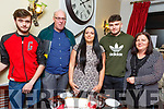 Aoife McAuliffe from Tralee celebrating her 21st birthday in Denny Lane on Saturday night.<br /> L-r, John O&rsquo;Connor, Anthony, Aoife, Cian and Breda McAuliffe.