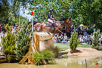 AUS-Emma Bishop rides CP Issey Miyake during the Cross Country for the Mitsubishi Motors CCI4*. 2018 AUS-Mitsubishi Motors Australian International 3 Day Event. Saturday 17 November. Copyright Photo: Libby Law Photography