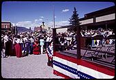 Durango Centennial celebration 1981<br /> D&amp;RGW  Durango, CO  1981