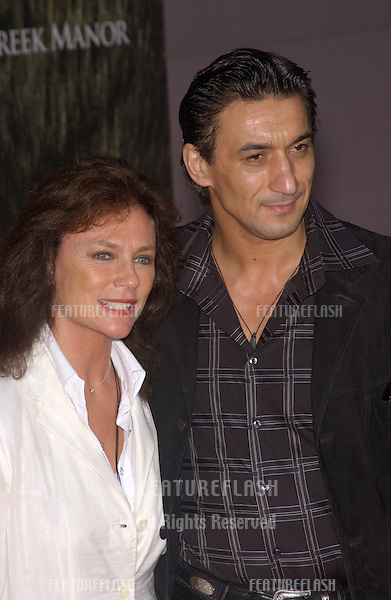 Actress JACQUELINE BISSET & boyfriend at the world premiere, in Hollywood, of her new movie Cold Creek Manor..Sept 17, 2003