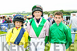 At  the Dingle Races at Ballintaggart Racecourse on Saturday were l-r  Mikey Sheehy, Pat Toff and Philip Egan