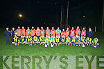 MEDIA NIGHT: On Friday night at Fenuge GAA Club a media niht was held for the Finuge GAA Team, as they were in training for the Final against Tryone., Fron l-r Pat Corridon, Eoin McCarthy, Eamonn Fitzmaurice, Raymond Galvin, Declan McCarthy, Ricky Heffernan, Michael Stackpoole, Kenny Walz, J.P Barrett, William O'Connor, Maurice Corridon, Mike Lynch, Cillian,Fergue and Conor Fitzmaurice.Back l-r: John Colbert (mentor), Wayne Murphy, Paul Galvin, Michael Conway, Paudie Lyons, Stephen Power, Enda Galvin, Kevin McCarthy, Paudie Galvin, Greg O'Connor, Gary Hogan, James Flaherty, Keefer Roche, Trevor McKenna, John McCarthy, John Corridon and John Gilbert (bainisteoir)