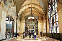Nederland Amsterdam  2016 03 13. Hal in het Rijksmuseum.  Foto Berlinda van Dam / Hollandse Hoogte