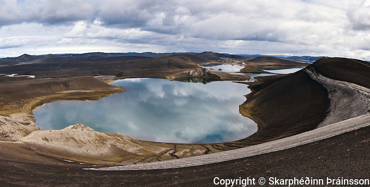 Lake Fossavatn in Veiðivötn, central highlands of Iceland