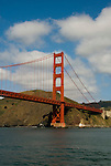 San Francisco, California: Golden Gate Bridge and Marin Headlands. Photo 15-casanf78172. Photo copyright Lee Foster.