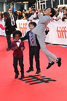AIDEN AKPAN, CALLAN FARRIS AND REECE CODY - RED CARPET OF THE FILM 'KINGS' - 42ND TORONTO INTERNATIONAL FILM FESTIVAL 2017