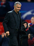 Jose Mourinho, manager of Manchester United after the Champions League Group A match at the Old Trafford Stadium, Manchester. Picture date: September 12th 2017. Picture credit should read: Andrew Yates/Sportimage