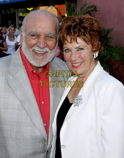 "MARION ROSS & GUEST.""Cinderella Man"" World Premiere held at The Gibson Amphitheatre..May 23rd, 2005.Photo Credit: Jacqui Wong/AdMedia.headshot portrait brooch beard.www.capitalpictures.com.sales@capitalpictures.com.© Capital Pictures."
