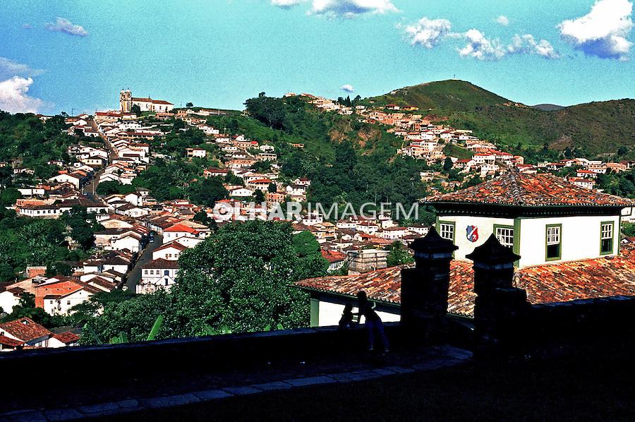 Cidade histórica de Ouro Preto. Minas Gerais. 1999. Foto de Juca Martins.