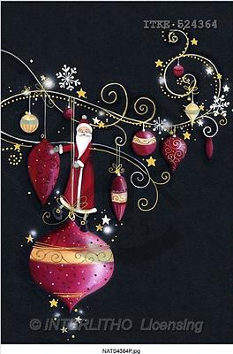Isabella, CHRISTMAS SANTA, SNOWMAN, paintings, santa, ball(ITKE524364,#X#) Weihnachtsmänner, Schneemänner, Weihnachen, Papá Noel, muñecos de nieve, Navidad, illustrations, pinturas