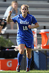 09 September 2011: Duke's Maddy Haller. The Duke University Blue Devils defeated the Texas A&M Aggies 7-2 at Koskinen Stadium in Durham, North Carolina in an NCAA Division I Women's Soccer game.