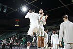 DENTON TEXAS, January 6: University of North Texas Mean Green Men's Basketball v Old Dominion University at the Super Pit in Denton on January 6, 2018 (Photo Rick Yeatts Photography/Colin Mitchell)