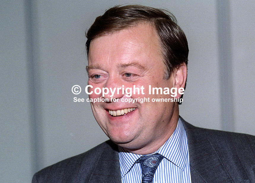 Kenneth Clarke, MP, Conservative Party, Home Secretary, politician, UK, 19921052KC2.<br />