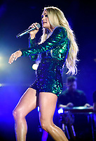 08 June 2018 - Nashville, Tennessee - Carrie Underwood. 2018 CMA Music Fest Nightly Concert held at Nissan Stadium. <br /> <br /> CAP/ADM/LF<br /> &copy;LF/ADM/Capital Pictures