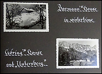 BNPS.co.uk (01202 558833)<br /> Pic: DavidDuggleby/BNPS<br /> <br /> Martin Bormann and Herman Gorings Berchtesgaden homes durint the war.<br /> <br /> This amazing photo album reveals the close knit alpine community where Hitler and his henchmen worked and played.<br /> <br /> The album was brought back to Britain by a British administrator of the railways in post war Germany and reveals the cosy living arrangements of the high ranking Nazi's of Hitlers Third Reich.<br /> <br /> It shows the homes of Hitler, Martin Boorman and Hermann Goering in tiny Berchtesgaden in Bavaria, and also the infamous Eagles Nest on a mountain top nearby where the evil dictator would dream his dreams whilst taking in the stunning vista.<br /> <br /> The unique album is being sold by David Duggleby auctioneers in Scarborough on the 7th October.