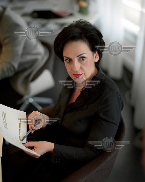 Nelly Wenger, managing director of Nestle Switzerland.