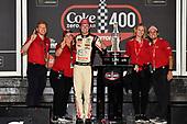 #20: Erik Jones, Joe Gibbs Racing, Toyota Camry buyatoyota.com Celebrates his win
