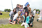 Dublin Gang on Day 1 of the Oxegen Festival, Punchestown, Co.Kildare...(Photo credit should read Jenny Matthews www.newsfile.ie)....This Picture has been sent you under the conditions enclosed by:.Newsfile Ltd..The Studio,.Millmount Abbey,.Drogheda,.Co Meath..Ireland..Tel: +353(0)41-9871240.Fax: +353(0)41-9871260.GSM: +353(0)86-2500958.email: pictures@newsfile.ie.www.newsfile.ie.