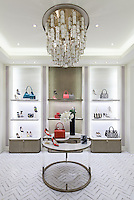 Raj, a marble mosaic by New Ravenna. <br />