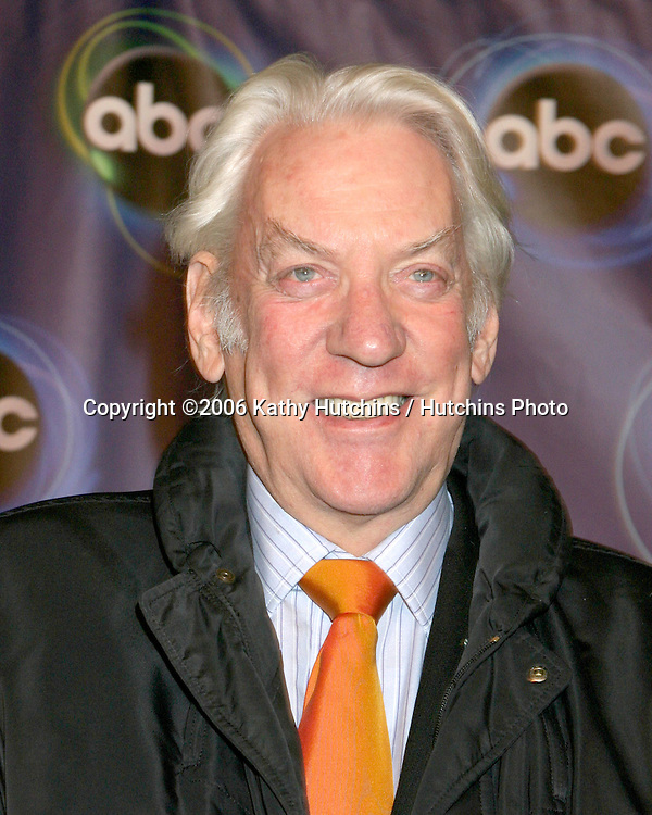 Donald Sutherland.ABC TV TCA Party.The Wind Tunnel.Pasadena, CA.January 21, 2006.©2006 Kathy Hutchins / Hutchins Photo....