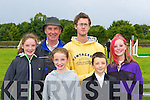 Avril Dineen, Michael Dineen, Michelle Dineen, Maurice Quilter, Jackie Mulvihill and Rosie Ashman Lisselton at the Killorglin Pony show on Sunday .