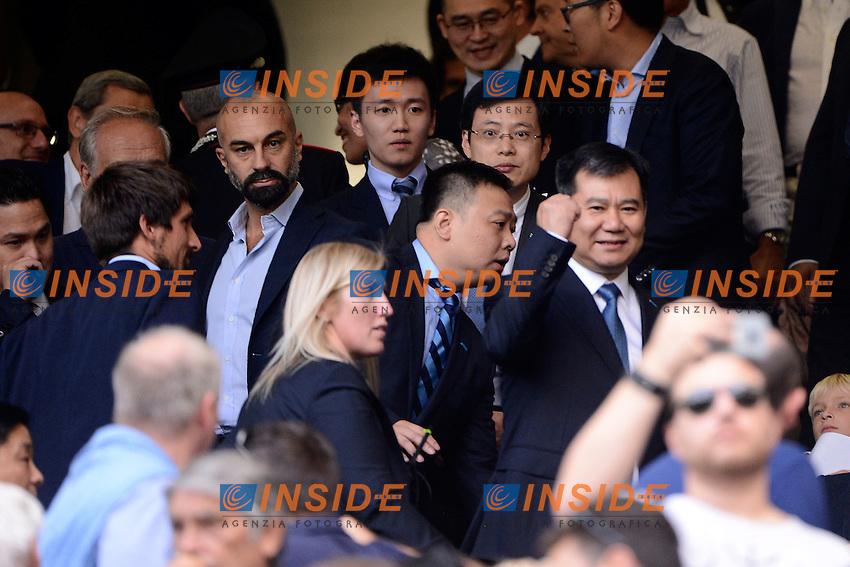 Zhang Jindong esulta<br /> Milano 18-09-2016 Stadio Giuseppe Meazza - Football Calcio Serie A Inter - Juventus. Foto Giuseppe Celeste / Insidefoto