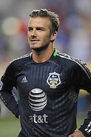 MLS All-Stars midfielder David Beckham (23) The MLS All Stars Team defeated Chelsea FC 3-2 at PPL Park Stadium, Wednesday 25, 2012.