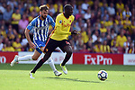 Abdoulaye Doucoure of Watford during the premier league match at the Vicarage Road Stadium, Watford. Picture date 26th August 2017. Picture credit should read: Robin Parker/Sportimage