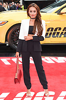 Amber Davies at the premiere of &quot;Logan Lucky&quot; at the VUE West End Cinema, London, UK. <br /> 21 August  2017<br /> Picture: Steve Vas/Featureflash/SilverHub 0208 004 5359 sales@silverhubmedia.com
