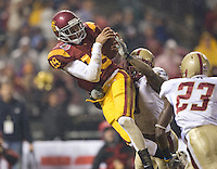 .USC 24-13 over Boston College at the 2009 Emerald Bowl at ATT Park in San Francisco, California, Saturday, Dec. 26, 2009. .