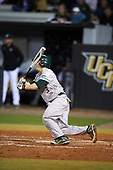 Siena Saints catcher Phil Madonna (3) during a game against the UCF Knights on February 17, 2017 at UCF Baseball Complex in Orlando, Florida.  UCF defeated Siena 17-6.  (Mike Janes/Four Seam Images)