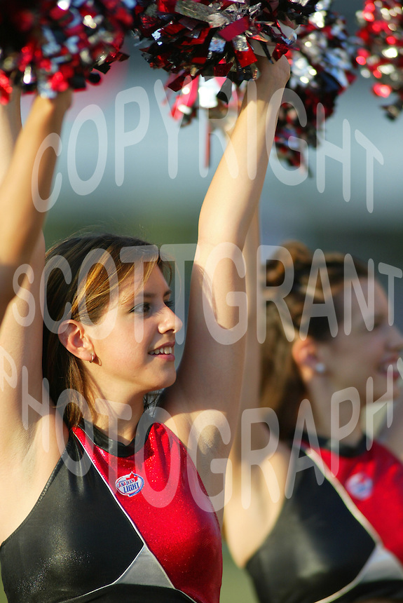 Ottawa Renegades cheerleaders 2003. Photo F. Scott Grant
