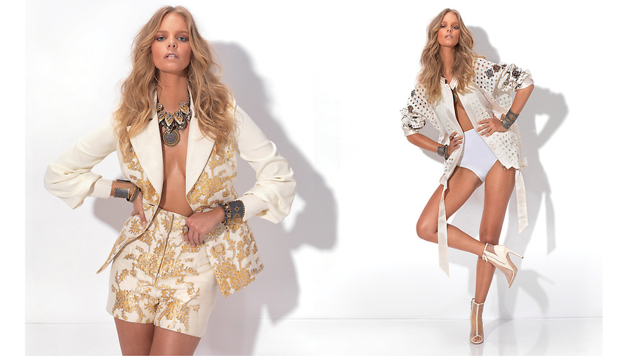 Still images from the May 2013 photo shoot with model Marloes Horst, stylist Mary Alice Stephenson, producer Tangie Silva, interviewer Eddie Roche, hair stylist Marshal Lin, make up stylist Susan Houser, and photo assistant Stefania Curto. Special thanks to Next NY, and FashionWeekDaily.com