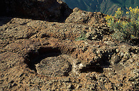 Spanien, Kanarische Inseln, Gran Canaria, Roque Bentaiga, Guanchen-Altar