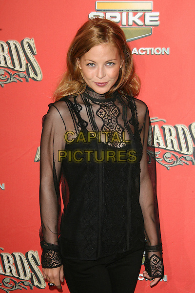 "JORDAN LADD.At Spike TV's ""Scream Awards 2006"", Press Room,. at the Pantages Theatre, Hollywood, California, USA, .7th October 2006..half length black shirt top sheer.Ref: ADM/ZL.www.capitalpictures.com.sales@capitalpictures.com.©Zach Lipp/AdMedia/Capital Pictures."