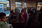 refugee, , Serbia, Ungheria, Keleti station, Ph &copy; Andreja Restek<br /> Ungheria, Budapest, Stazione Keleti, Novembre 2015 <br /> <br /> I profughi che partono dalla stazione Keleti di Budapest per Hegyeshalom, ultima citt&agrave; prima del confine austriaco, viaggiano in carrozze separate dal resto del treno. Agli altri passeggeri &egrave; severamente vietato mescolarsi con loro, chi riesce a salire di soppiatto sui loro vagoni deve nascondere la propria identit&agrave;. La polizia di tre stati, Ungheria, Austria e Germania, controlla che questa netta divisione venga rispettata, ma nessuno spiega il perch&eacute; di questo regolamento da apartheid.