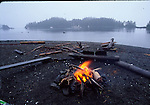 Campfire at the Brothers Islands