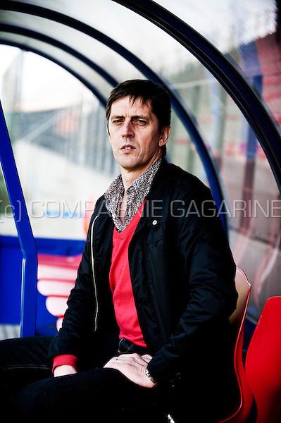 Jean-François de Sart, sportive director of the Standard de Liège football club (Belgium, 16/03/2012)