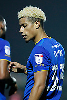 GOAL - Goalscorer Lyle Taylor of AFC Wimbledon during the Sky Bet League 1 match between AFC Wimbledon and Charlton Athletic at the Cherry Red Records Stadium, Kingston, England on 10 April 2018. Photo by Carlton Myrie / PRiME Media Images.