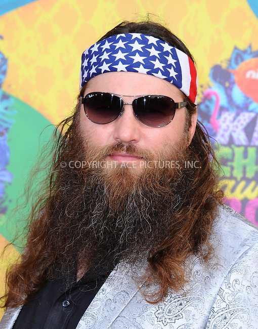 WWW.ACEPIXS.COM<br /> <br /> <br /> March 29,2014, Los Angeles,CA<br /> <br /> <br /> Willie Robertson arriving at Nickelodeon's 27th Annual Kids' Choice Awards held at USC Galen Center on March 29, 2014 in Los Angeles, California.<br /> <br /> <br /> <br /> By Line: Peter West/ACE Pictures<br /> <br /> ACE Pictures, Inc<br /> Tel: 646 769 0430<br /> Email: info@acepixs.com
