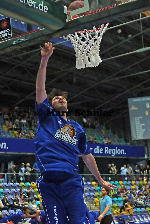 Marius Nolte (Skyliners) - Fraport Skyliners vs. Walter Tigers Tübingen, Fraport Arena Frankfurt